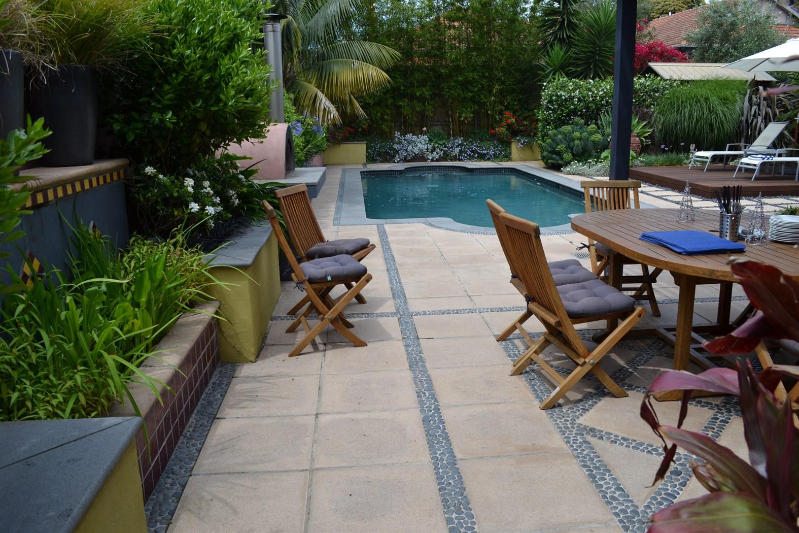 Moorish Pool Deck