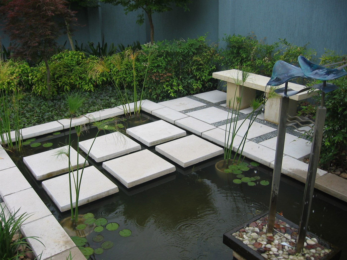 View Of Waterfeature And Stepping Stones · View Of Garden ... Part 59