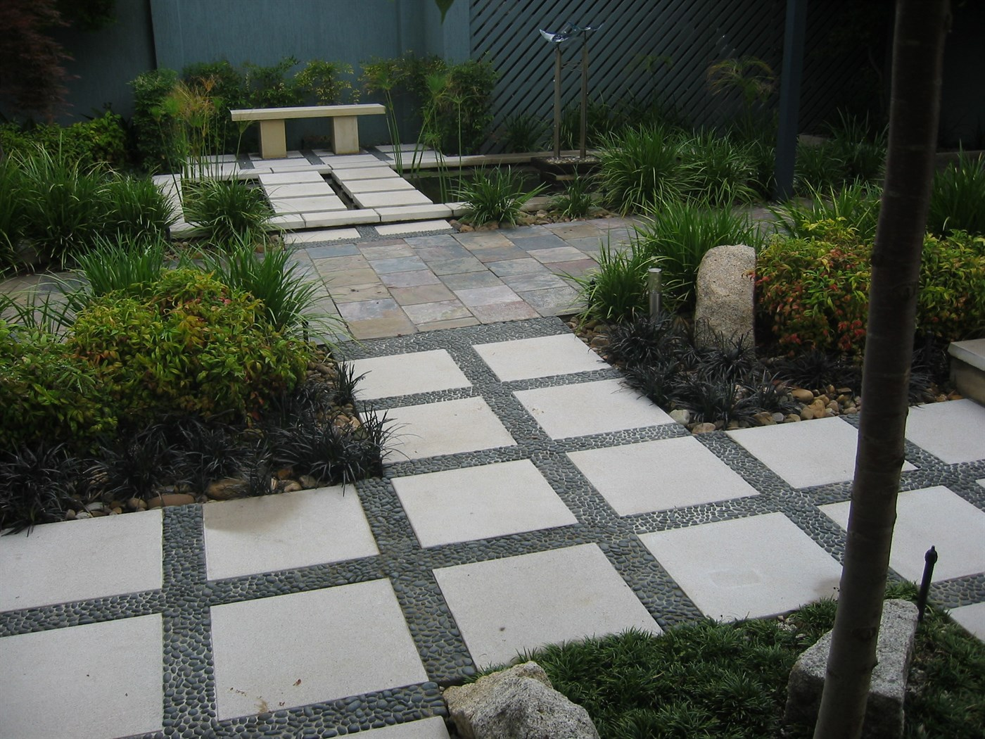 ... View Of Garden · View Of Paving Detail ... Part 40